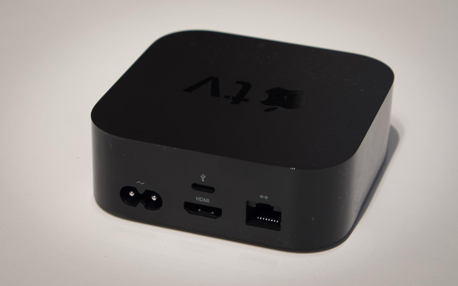 Apple TV - baksida